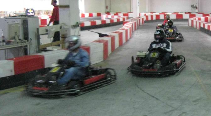 Gruppenveranstaltung Kartfahren