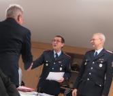 Beförderung Klaus-Dieter Hädelt zum 1.Hauptfeuerwehrmann