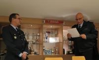 Verleihung Ehrenzeichen des Feuerwehrverbandes Braunschweig-Stadt e.V. an Martin Wasmuß
